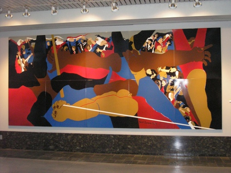 Jacob Lawrence, Washington State Convention Center, Seattle
