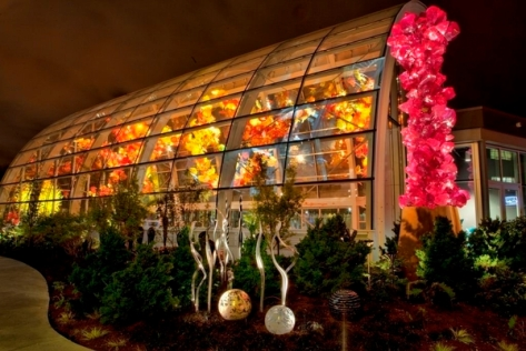 Dale Chihuly in Seattle